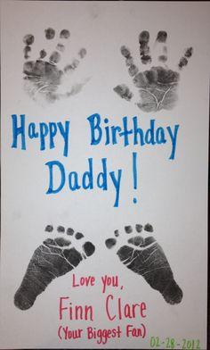 birthday card for daddy