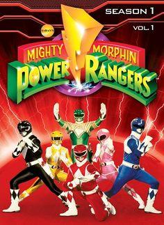 Mighty Morphin Power Rangers Season 1, Vol. 1 - Review TheTvKing.com