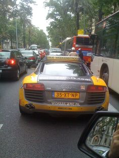 Audi R8 Taxi? When will be the ROI?