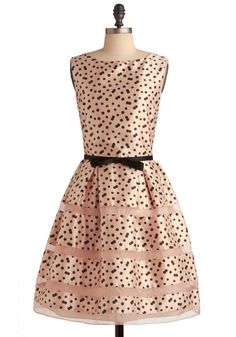 """SOLD. Modcloth Rose Bubbly Dress, size 14. Runs large. I don't think it's ever been worn. *SELL ONLY* Measurements (taken flat): 22"""" bust, 18"""" waist. $85 shipped"""