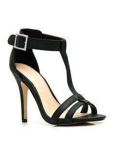 Fit Two A T Ankle Strap Heels #lbd #heels #shoes #stiletto