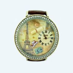 2012 Vintage Paris Style Polymer Clay Women's Fashion Watch