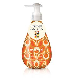 Love Method products - white nectarine gel hand wash – ORLA KIELY spring limited edition.