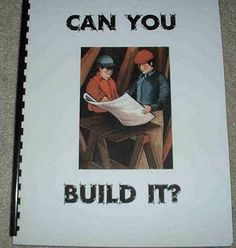 Book I can make to put in blocks center