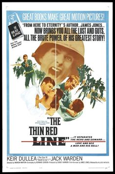 The Thin Red Line - USA (1964) Director: Andrew Marton (Available in Australia in an Anamorphic Widescreen Transfer Region 4 DVD.)