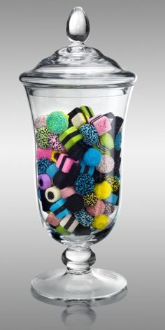 Beaded candy in a jar