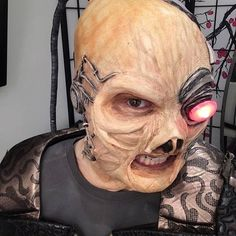 We have a new show on the way, and it involves Swaim looking like this. (Makeup by @jaydolfbitler) #StarshipIcarus