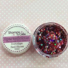 NEW Stamps by Chloe Sparkelicious glitter in Dorothys Red Shoes