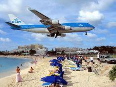 airport, st maarten, airplan, beach bars, sunset beach, place, low clearanc, sint maarten, island