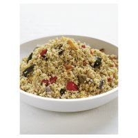 Cous cous and roasted vegetable salad