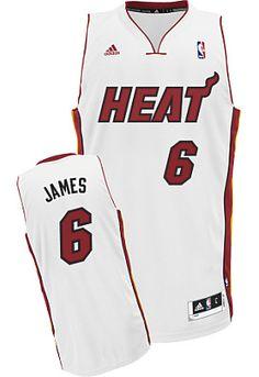 adidas Miami Heat LeBron James Revolution 30 Swingman Home Jersey - Dick's Sporting Goods