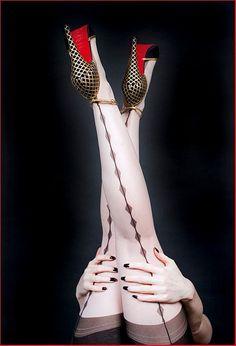 Love seeing our Secrets In Lace Diamond Backseams http://www.secretsinlace.com/product/Dita-Von-Teese-Diamond-Backseam-Nylon-Full-Fashioned-Stocking/Dita_Von_Teese_Nylon_Stockings