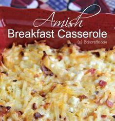 Amish Style Breakfast Casserole | AllFreeCasseroleRecipes.com