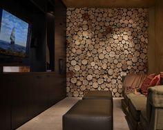 Wood Slice wall