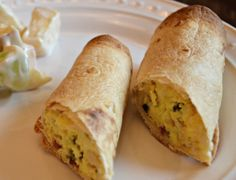 Bacon and Egg Taquitos | OAMC from Once A Month Mom