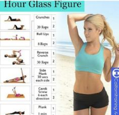 Hourglass workout routine