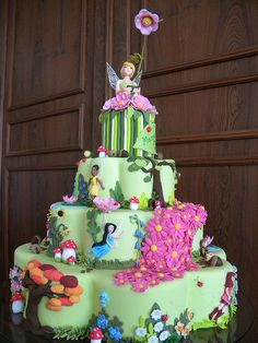 tinkerbell cake ... like WOW