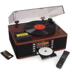 The LP And Cassette To CD Recorder - Hammacher Schlemmer