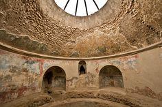 Frigidarium of the Stabian Baths in Pompeii, Italy