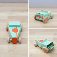 DIY Design Your Own Paper Hot Rod Kit