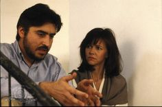 """Alfred Molina & Sally Field in """"Not Without My Daughter"""""""