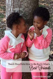 Want to teach your kids to be kind to one another and cultivate a true friendship with one another? This mom has some amazing tips and can teach you how to help your kids actually learn to compliment each other instead of wanting to kill each other! www.thatcaroljones.com Apparently