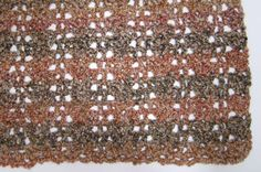 No Beginning Chain Quick Shell and Lace Blanket - Afghans Crocheted My Patterns - - Mama's Stitchery Projects