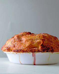 Sky-High Apple-Cranberry Pie skyhigh applecranberri, food, pies, applecranberri pie, apples, pie recipes, martha stewart, cranberries, dessert