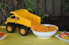 Boy's Construction Party ~ dump truck server