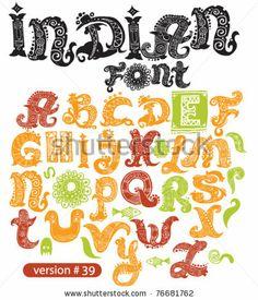 India Font