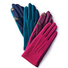 Colorblock Gloves from talbots.com; $39.50
