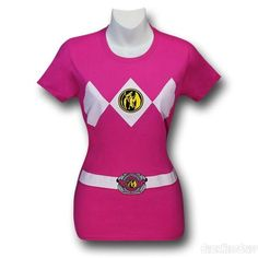 Kate pink power ranger