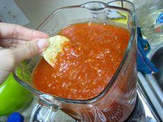 salsa chip, dip, appet, food, canning recip, sauc, yummi, blender salsa, salsa recip