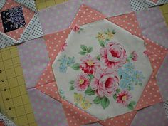 Sarah Fielke block-Strawberry Fields quilt