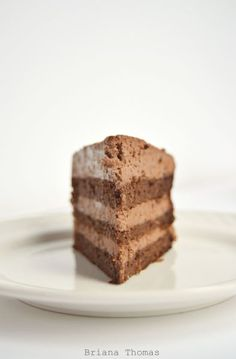 Fudgy Chocolate Layer Cake (Low-Carb, Sugar-Free, THM:S) - frost with my Fudgy Mocha Frosting for a true showstopper
