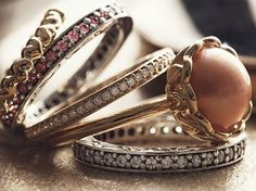 Pandora stackable rings...love the rings wayyyy more than bracelets