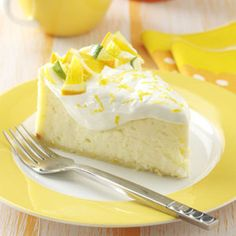 Citrus Cheesecake Recipe from Taste of Home -- shared by Marcy Cella of L'Anse, Michigan