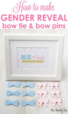 Gender Reveal Party Pins