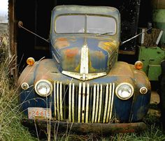 1942-47 Ford truck by swainboat, via Flickr
