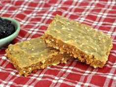 Peanut Butter Sesame Breakfast Bars