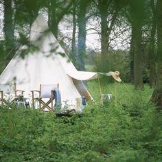 classy camping.