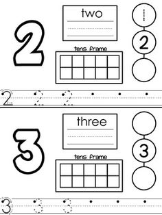 Numbers for Transitional Kindergarten - Mrs. Baldridge - TeachersPayTeachers.com