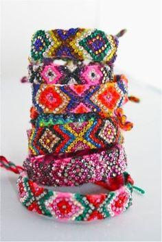 Peace, Love and Friendship Bracelets :)