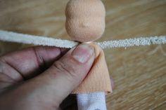 Tutorial to make a wool Sleeping Beauty/Angel doll - FairyWoolDolls Blog