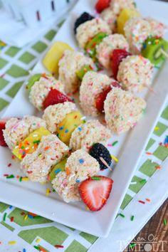 rice krispies treats, krispi treat, fruit kabob