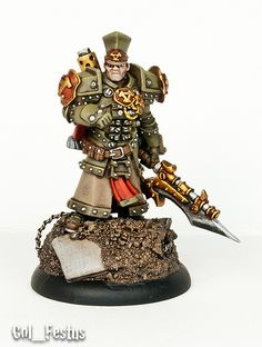 Way cool take on trench style Khador models!