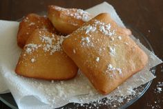 Sopapillas - a great recipe- and video tutorial!!  Luv the furry sou chef in every video and the extras at the end!