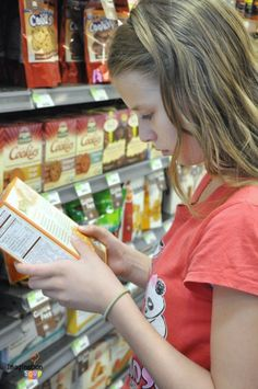 Healthy Eating Strategies for Picky Eaters -- reading food labels and ingredients is a great strategy for my older kids!