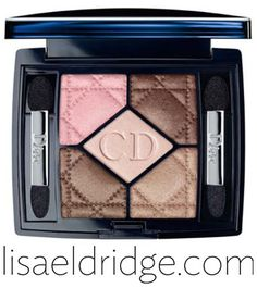 Dior - 5 Couleurs Eye Shadow in Rosy Tan as used in my 'Beautiful Special Occasion Make-up - Wedding/Prom Tutorial' http://www.lisaeldridge.com/video/25753/beautiful-special-occasion-make-up-weddingprom-etc/ #Wedding #Makeup #Bridal