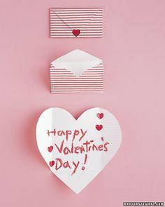 Folding Heart Cards <3